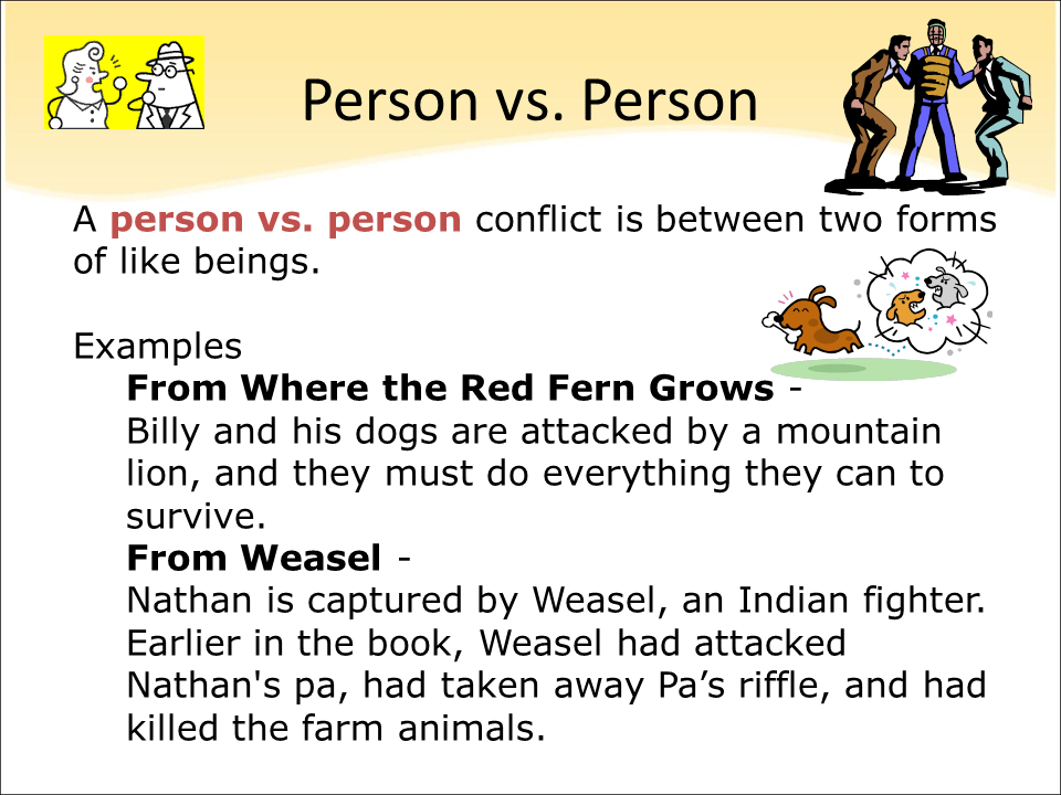 Using Animated Shorts to Teach Conflict