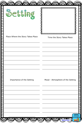 Free Blank Setting Anchor Chart
