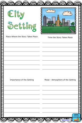 Free City Setting Anchor Chart