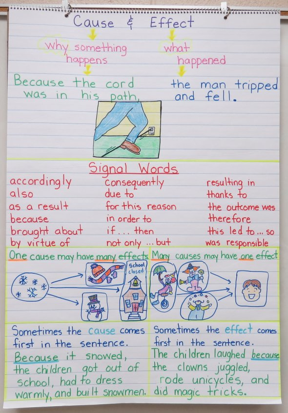 ... Charts and Free Graphic Organizers Cause And Effect Graphic Organizer