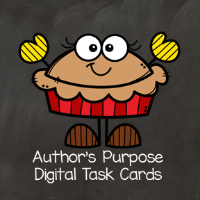 Author's Purpose - Digital Task Cards