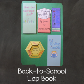 Back to School Lap Book