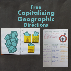 Capitalizing Geographical Terms