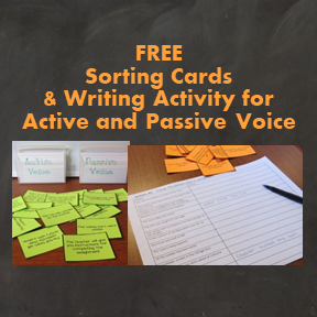 Passive and Active Voice Activities