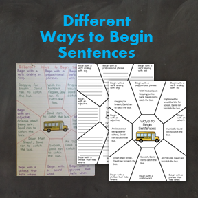 Different Ways to Start Sentences