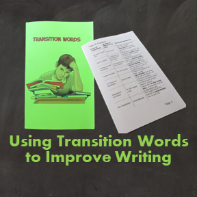 Using Transition Words to Improve Writing Resource Booklet