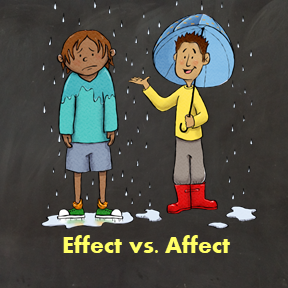 Effect vs Affect Activities