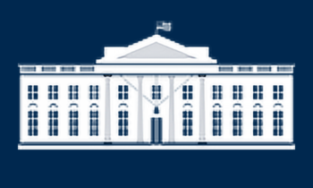 US White House Building
