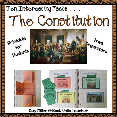 Free Organizers for your Constitution Unit