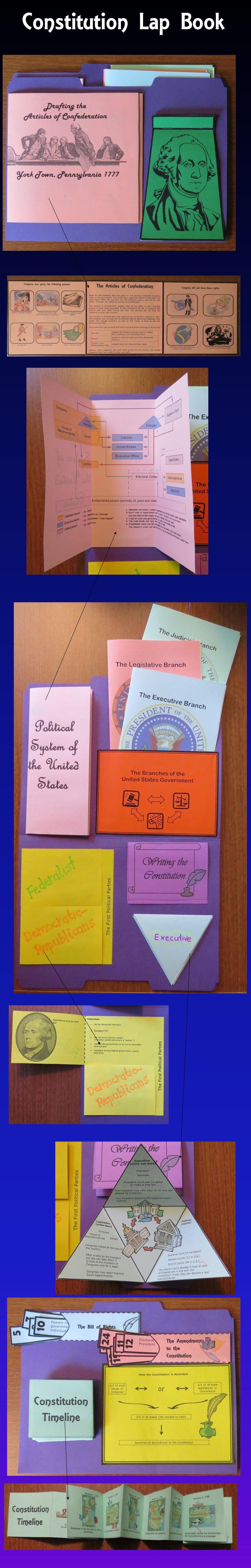 The Constitution Lap Book