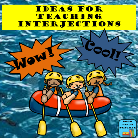 Interjection Teaching Ideas