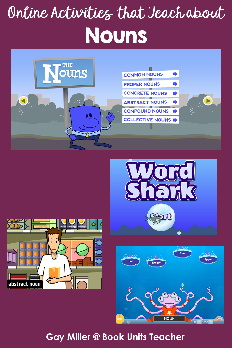 Nounss - Activites on the Web