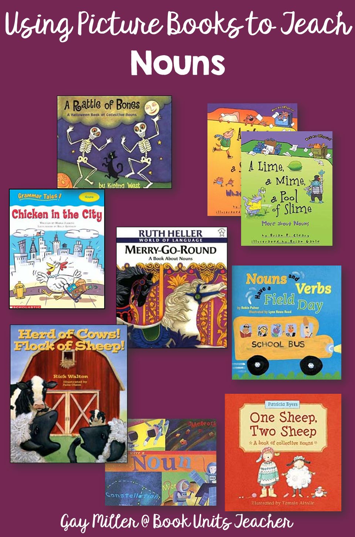 Nouns - Picture Books that Help Teach Parts of Speech