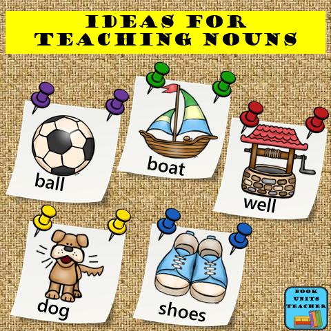 Noun Teaching Ideas