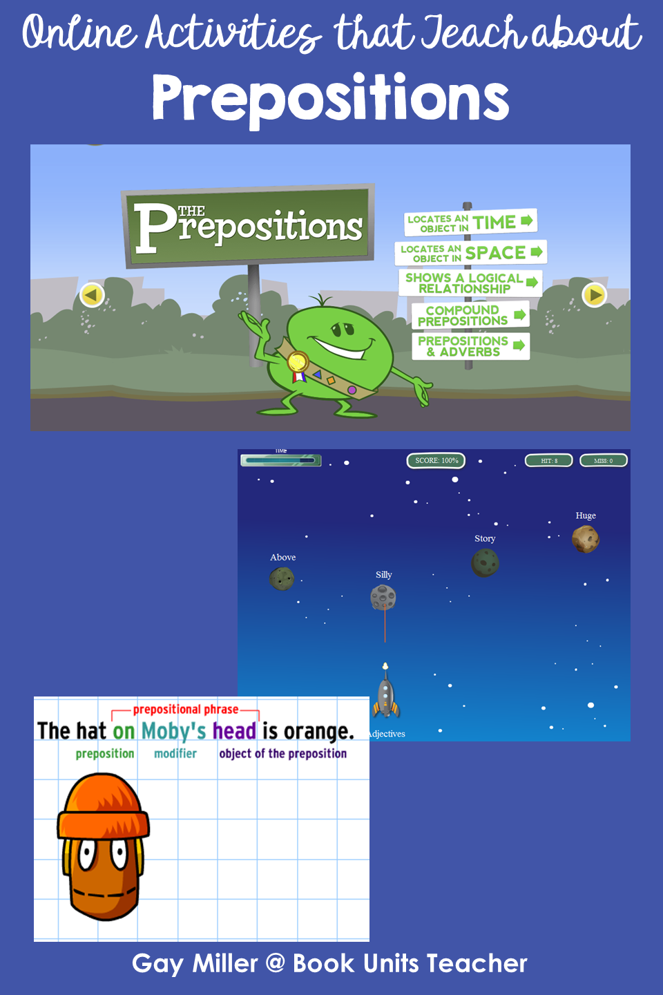 Prepositions - Activites on the Web