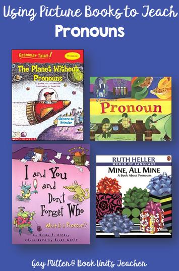 Pronouns - Picture Books that Help Teach Parts of Speech