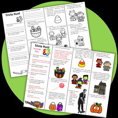 Halloween Activity - Trivia
