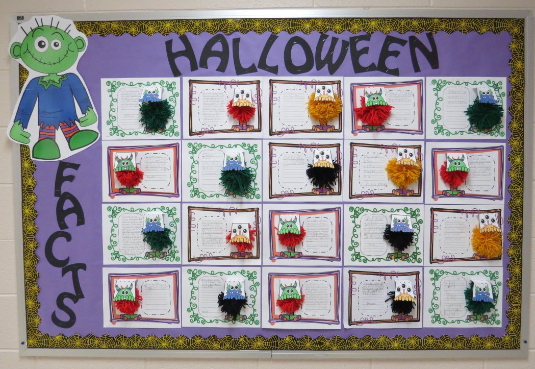 Halloween Facts Bulletin Board