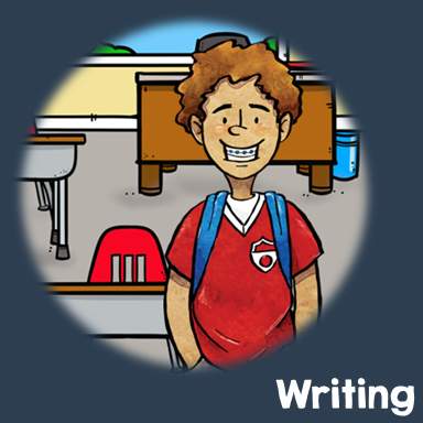 Getideas to teach upper elementary students writing and free teaching material to aid with your lessons.