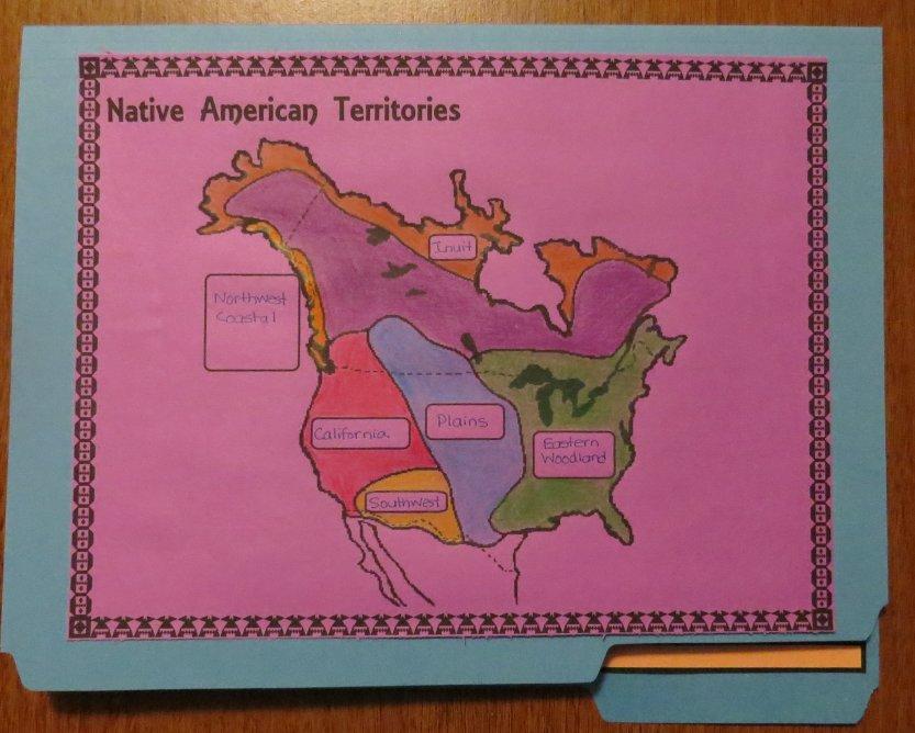 FREE Native American Lap Book