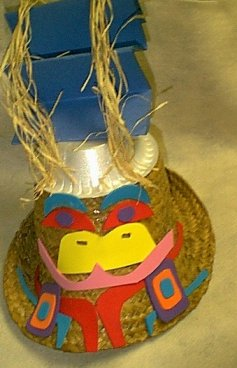 Northwest Coastal Indian Hat