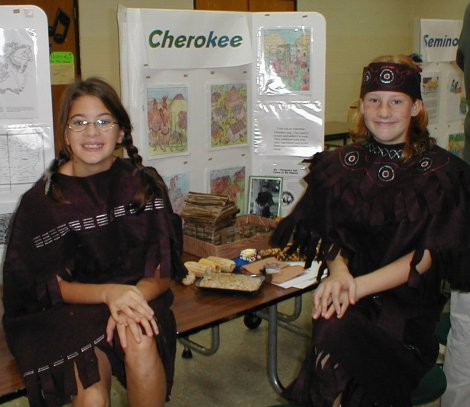 Native American Living Museum Created by Students