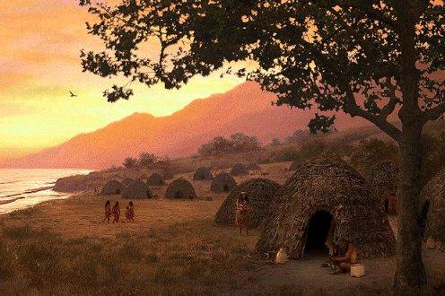 California Native Village