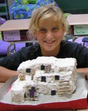 Model pueblo house