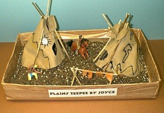 Plains Indians Teepee