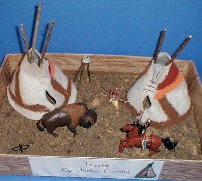 Plains Indians Teepee