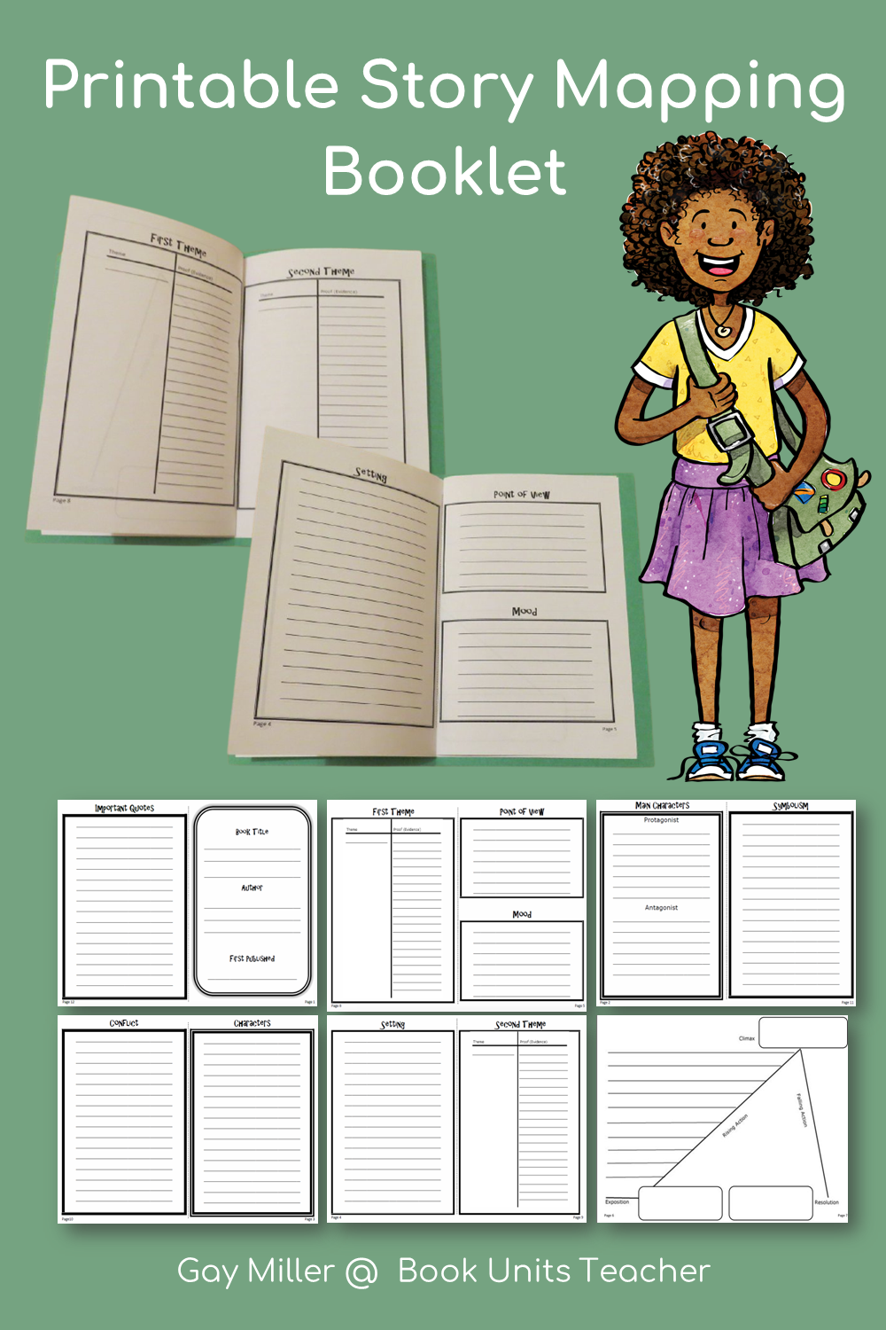 Free Printable Story Map
