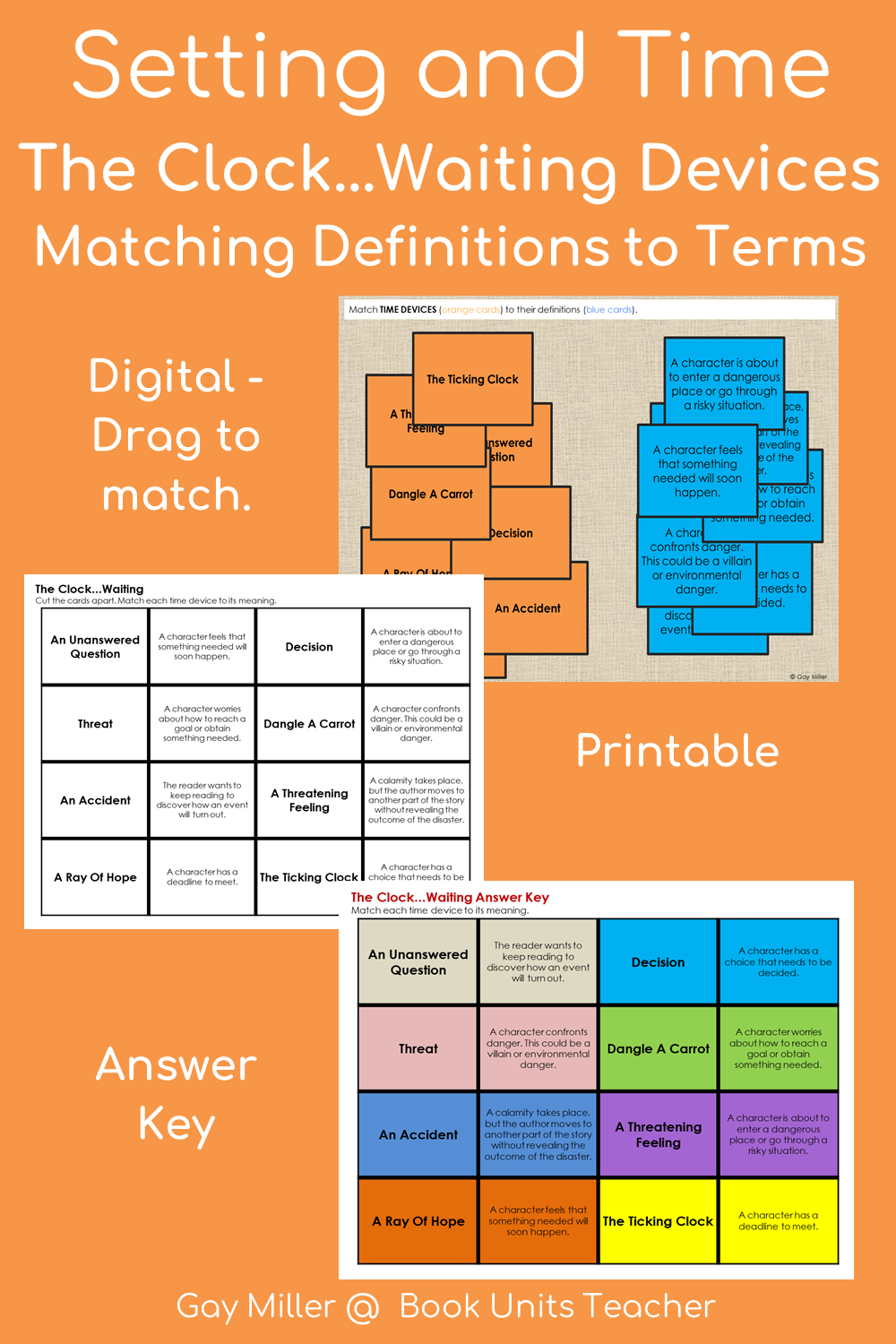 Teaching Setting in Literature - Ideas and Free Printables