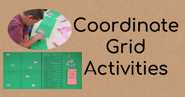Two Cooridinate Grid Activities