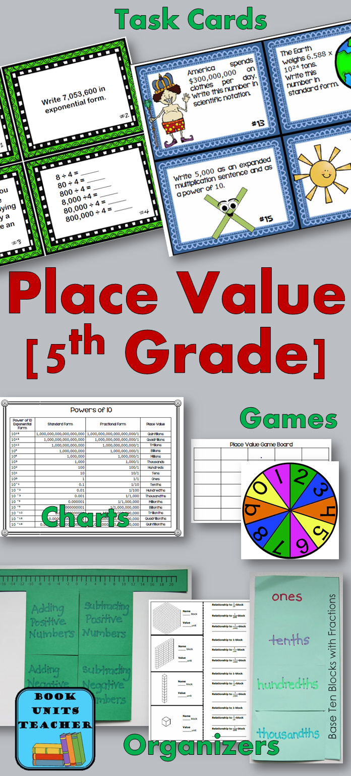 Place Value for 6th Graders