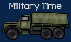 Military to 12 Hour Clock