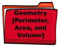 Geometry [Perimeter, Area, and Volume]