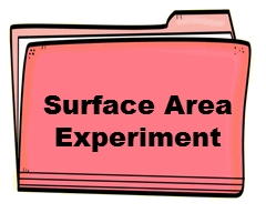 Surface Area Experiment