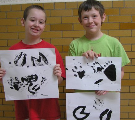 Animal Footprint Craft