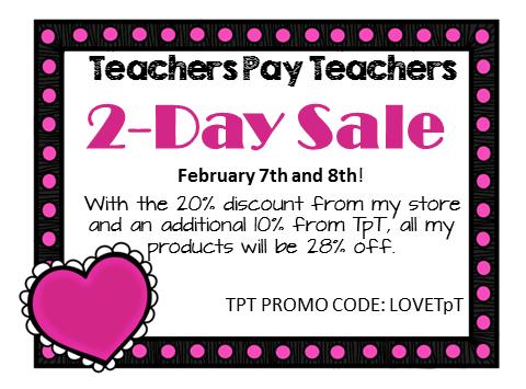 Teachers Pay Teachers Sale