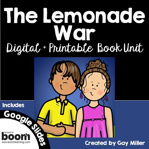 Purchase The Lemonade War on Teachers Pay Teachers
