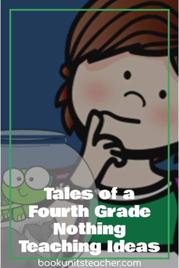 Tales of a Fourth Grade Nothing teaching ideas. Grab a free vocabulary, comprehension questions, and constructed writing prompts which is great for upper elementary including 3rd, 4th, and 5th graders.