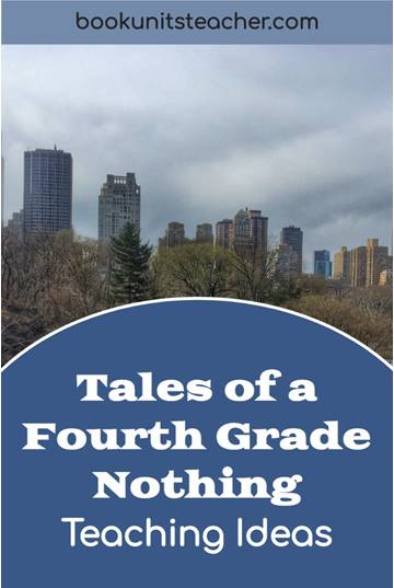 Tales of a Fourth Grade Nothing t teaching ideas. Grab a free vocabulary, comprehension questions, and constructed writing prompts which is great for upper elementary including 3rd, 4th, and 5th graders.