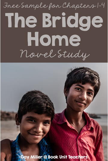 Get a free sample of The Bridge Home Novel Study