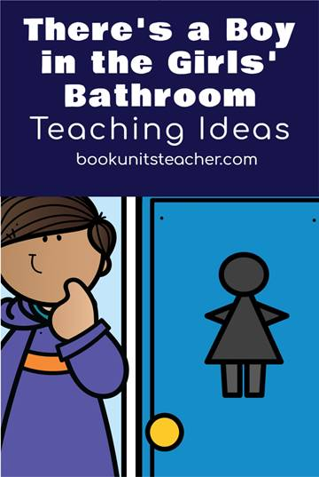 There's a Boy in the Girls' Bathroom Teaching Ideas - Grab a free vocabulary, comprehension questions, and constructed writing prompts which is great for upper elementary including 3rd, 4th, and 5th graders.