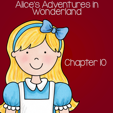 """Free Book Unit for Alice's Adventure in Wonderland - Chapter 10 """"The Lobster Quadrille"""""""