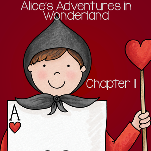 """Free Book Unit for Alice's Adventure in Wonderland - Chapter 11 """"Who Stole the Tarts?"""""""