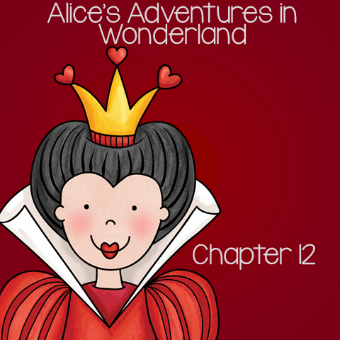 Free Book Unit for Alice's Adventure in Wonderland - Chapter 12