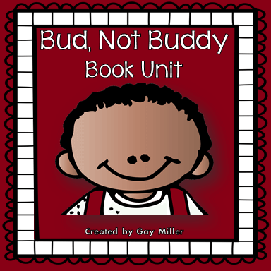Bud, Not Buddy Interactive Notebook and Activity Unit contains graphic organizers for an interactive notebook and game activities covering vocabulary, constructive response writing, and skill practice.