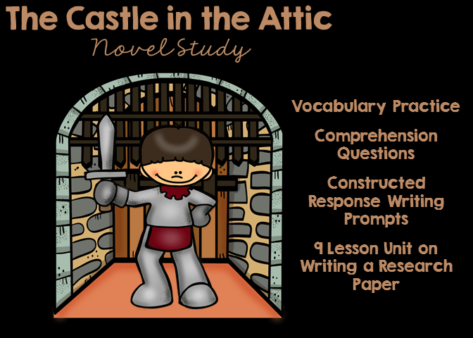 The Castle in the Attic Novel Study includes everything you need to teach the novel.