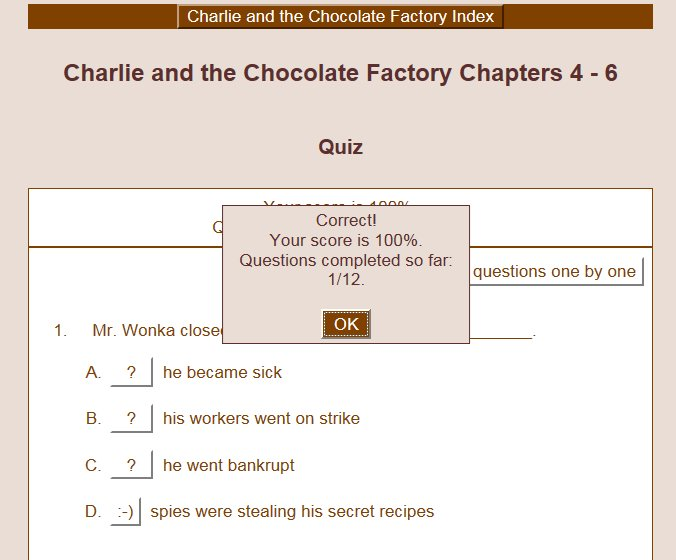 Charlie and the Chocolate Factory Teaching Resources